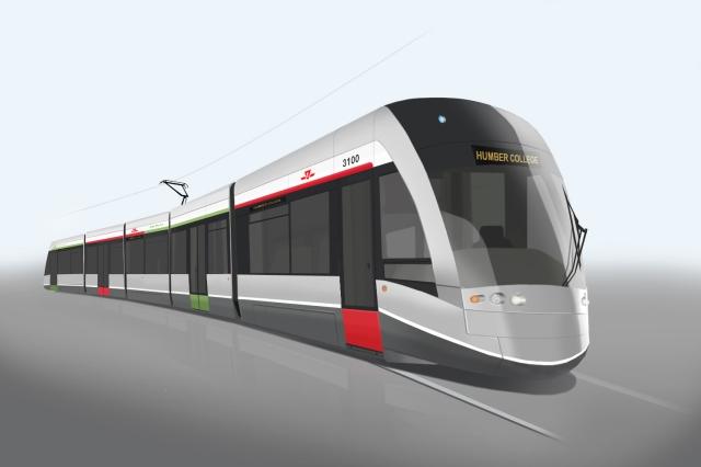 Toronto LRT livery concept - 4501 AB Sketch 25