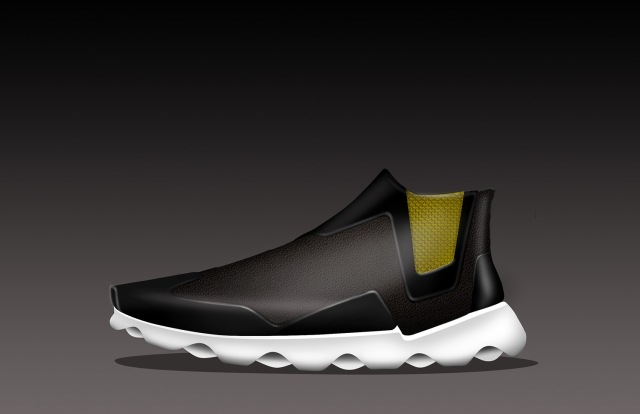 uzi shoe render