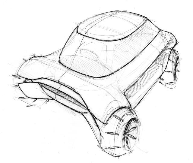 Vehicle Design at Humber | 3rd & 4th Year Student Sketches